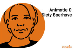 portret van Siety Boerhave televisie producent