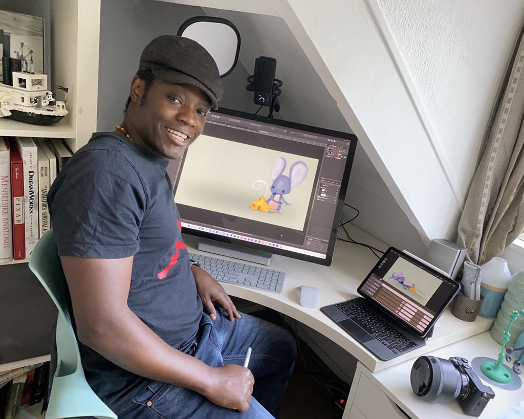 Paulo Dekkers 2d animator en beta tester voor callipeg software